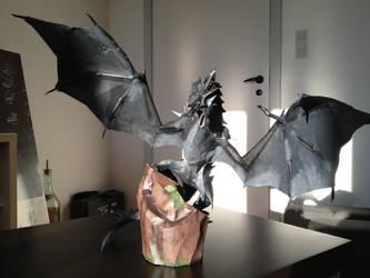 Skyrim Frost Dragon by Ineray