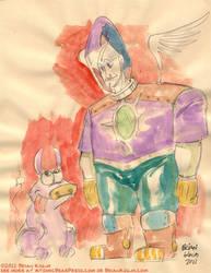 Spaceman 2-2011 by Atomic-Bear