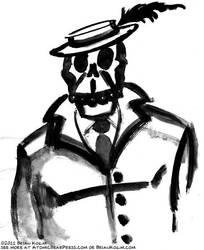 skull 2-2011 by Atomic-Bear