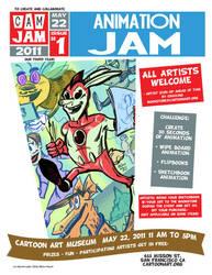CAM-JAM Animation jam 5-22-11 by Atomic-Bear