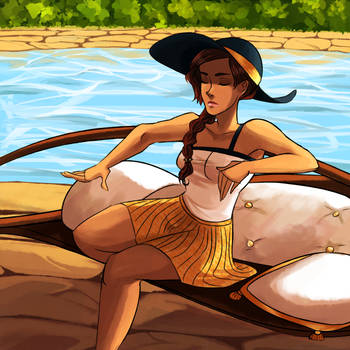 Summer's Here by CinnamoonAkia