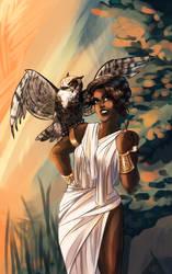 Athena by CinnamoonAkia