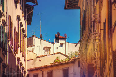 The streets of Florence by eileenel