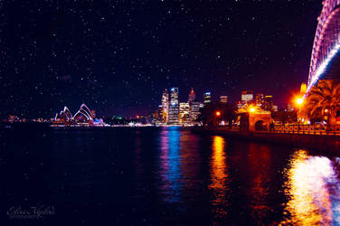 Sydney Skyline by eileenel