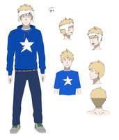 Hey, I like blue by Miingno