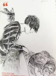 Inktober - Shadow Prince by kit-su-ne