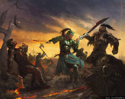 Great battle by Julaxart