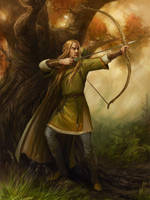 Legolas by Gellihana-art