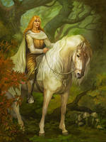 Glorfindel by Gellihana-art