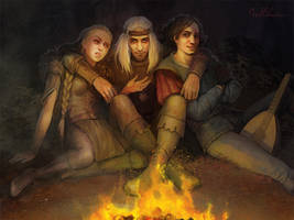 Milva Geralt Dandelion by Julaxart