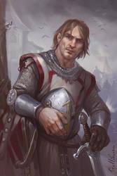 Knight by Julaxart