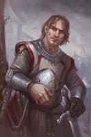 Knight by Gellihana-art