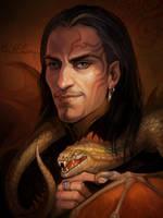 Dragon Master by Gellihana-art