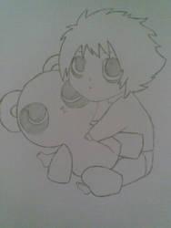 baby panda by ishu11