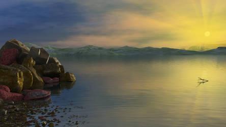 Sea sunset by slepalex
