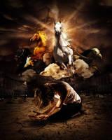 Steeds of the Horsemen by EternalSoulStudios