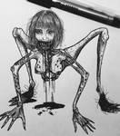 Arachnid Girl by Ereshkigalh