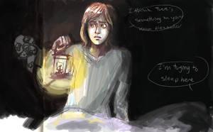 Lights off Daniel by Unknowncake