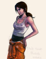 Chell by Unknowncake