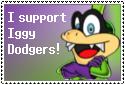 Iggy Dodgers stamp by Aso-Designer