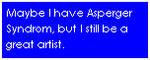 Asperger stamp by Aso-Designer