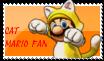 Cat Mario fan stamp by Aso-Designer