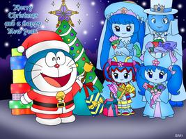 12 Days X-Mas Pic 12 - Doraemon's X-Mas Wishes by dannichangirl