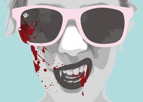 Summer Vampire by VectorTank