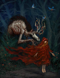 Here Comes The Wolfman by AsyaYordanova