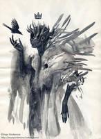 Little Black Bird by AsyaYordanova