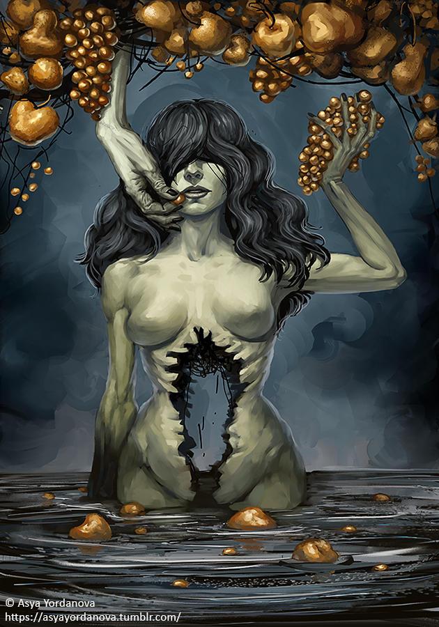 Golden Grapes by AsyaYordanova