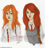 Ginny or Lily? by barbaroka
