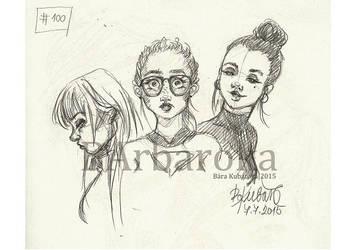 #100 by barbaroka