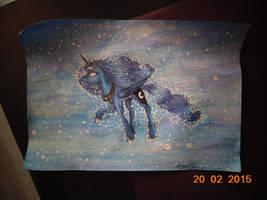 Luna w czasoprzestrzeni by Careness