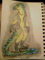 [Gift] Killer Croc Druu by Klomonx
