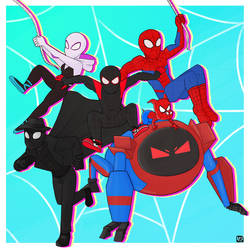 Into the Spiderverse by SavannahsDrabbles