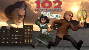 102 Mercenaries: Children to the Rescue poster by Dafuqer7
