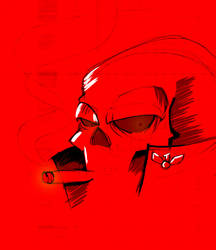 Red Skull by sly55