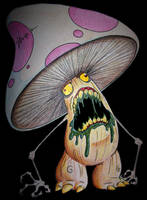 Toadstool's Bad Trip by XeviousTheGreat