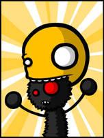 Hot-Headed --fd by fuzzydemon