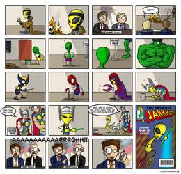 Our Superhero --fd by fuzzydemon