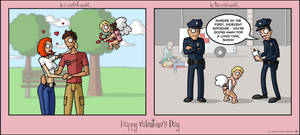 Valentines Day --fd by fuzzydemon