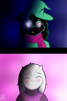 You are cute Ralsei by Domcia13