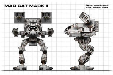 Mad Cat Mark II Blueprint by Walter-NEST