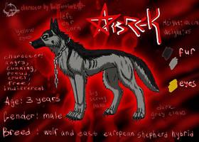 Abrek comics reference by BullTerrierKa