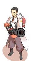 TF2- medic by EunDari