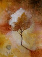 solitary tree by SethFitts