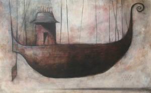 Flying Ship by SethFitts