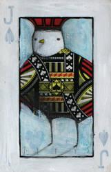 Bird- Jack of Spades ACEO by SethFitts