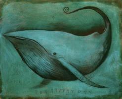 Whale Creature-Album Art V1 by SethFitts